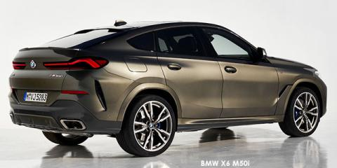 BMW X6 M50i - Image credit: © 2019 duoporta. Generic Image shown.