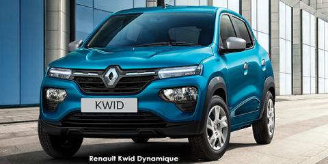 Renault Kwid 1.0 Dynamique - Image credit: © 2021 duoporta. Generic Image shown.