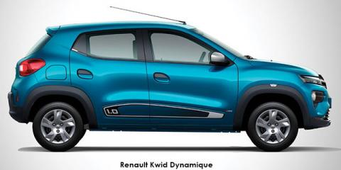 Renault Kwid 1.0 Dynamique auto - Image credit: © 2021 duoporta. Generic Image shown.