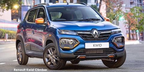 Renault Kwid 1.0 Climber auto - Image credit: © 2021 duoporta. Generic Image shown.
