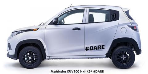 Mahindra KUV100 Nxt 1.2 G80 K2+ #DARE - Image credit: © 2021 duoporta. Generic Image shown.