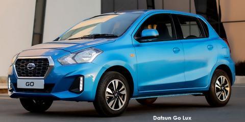 Datsun Go 1.2 Lux auto - Image credit: © 2021 duoporta. Generic Image shown.