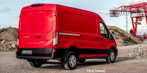 Ford Transit 2.2TDCi MWB panel van - Image credit: © 2021 duoporta. Generic Image shown.