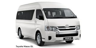 Toyota Hiace - Image credit: © 2021 duoporta. Generic Image shown.