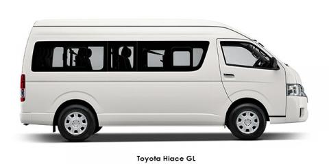 Toyota Hiace 2.5D-4D bus 14-seater GL - Image credit: © 2020 duoporta. Generic Image shown.