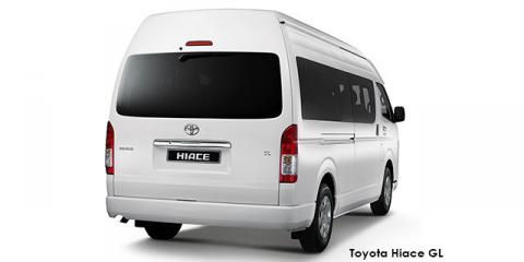 Toyota Hiace 2.5D-4D bus 14-seater GL - Image credit: © 2021 duoporta. Generic Image shown.