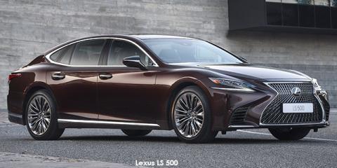 Lexus LS 500 - Image credit: © 2020 duoporta. Generic Image shown.