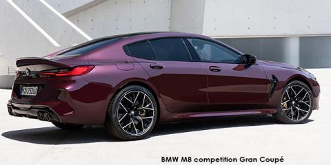 BMW M8 competition Gran Coupe - Image credit: © 2020 duoporta. Generic Image shown.