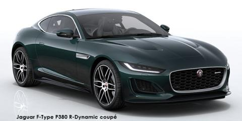 Jaguar F-Type P380 R-Dynamic coupe - Image credit: © 2021 duoporta. Generic Image shown.