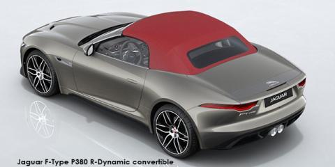Jaguar F-Type P380 R-Dynamic convertible - Image credit: © 2021 duoporta. Generic Image shown.