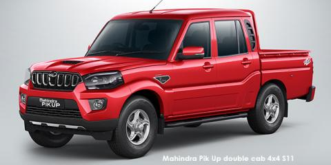 Mahindra Pik Up 2.2CRDe double cab S11 - Image credit: © 2020 duoporta. Generic Image shown.