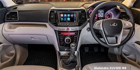 Mahindra XUV300 1.5TD W4 - Image credit: © 2021 duoporta. Generic Image shown.