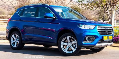 Haval H2 1.5T Luxury auto - Image credit: © 2021 duoporta. Generic Image shown.