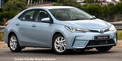 Toyota Corolla Quest 1.8 auto - Image credit: © 2021 duoporta. Generic Image shown.