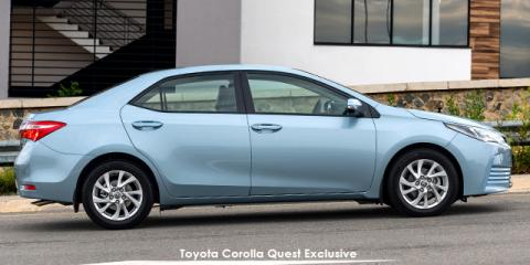 Toyota Corolla Quest 1.8 Exclusive - Image credit: © 2020 duoporta. Generic Image shown.