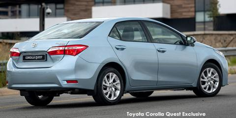 Toyota Corolla Quest 1.8 Exclusive auto - Image credit: © 2021 duoporta. Generic Image shown.