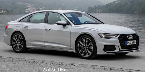 Audi A6 40TDI sports S line - Image credit: © 2020 duoporta. Generic Image shown.