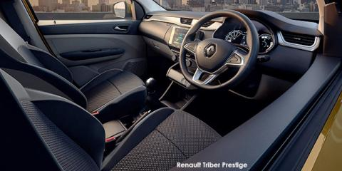 Renault Triber 1.0 Prestige - Image credit: © 2021 duoporta. Generic Image shown.