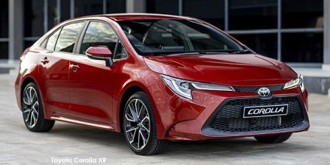 Toyota Corolla 2.0 XR - Image credit: © 2020 duoporta. Generic Image shown.