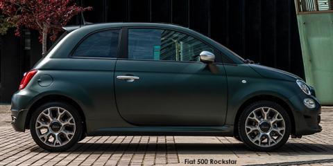 Fiat 500 TwinAir Rockstar auto - Image credit: © 2020 duoporta. Generic Image shown.