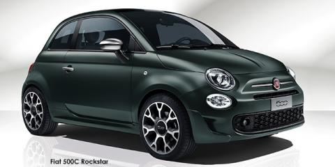 Fiat 500C TwinAir Rockstar auto - Image credit: © 2020 duoporta. Generic Image shown.