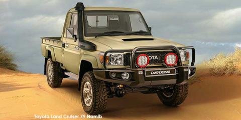 Toyota Land Cruiser 79 4.5D-4D LX V8 Namib - Image credit: © 2020 duoporta. Generic Image shown.