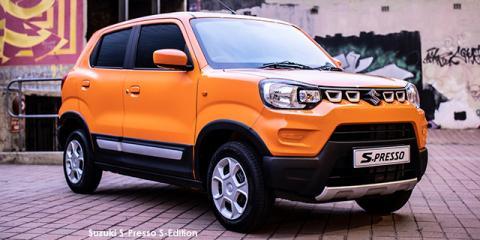 Suzuki S-Presso 1.0 S-Edition auto - Image credit: © 2021 duoporta. Generic Image shown.