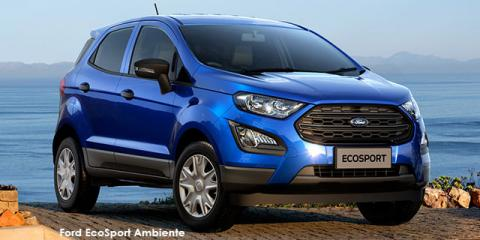 Ford EcoSport 1.5 Ambiente auto - Image credit: © 2021 duoporta. Generic Image shown.