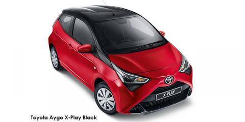 Toyota Aygo 1.0 X-Play - Image credit: © 2021 duoporta. Generic Image shown.