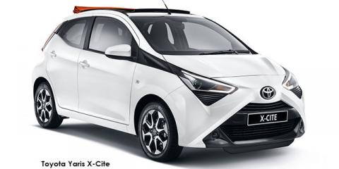 Toyota Aygo 1.0 X-Cite - Image credit: © 2021 duoporta. Generic Image shown.