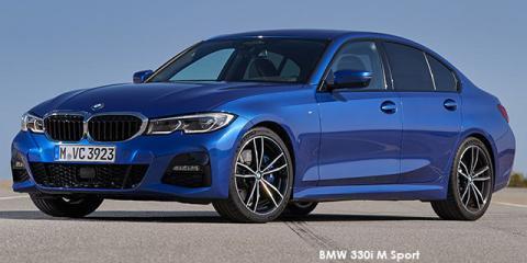 BMW 318i M Sport - Image credit: © 2020 duoporta. Generic Image shown.