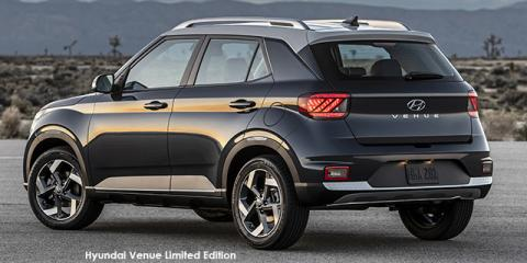 Hyundai Venue 1.0T Fluid Limited Edition - Image credit: © 2021 duoporta. Generic Image shown.