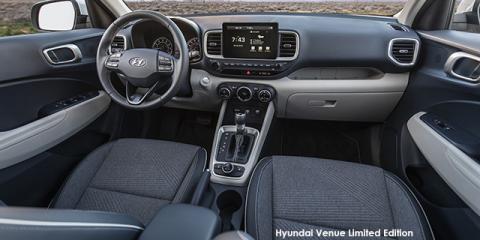 Hyundai Venue 1.0T Fluid Limited Edition auto - Image credit: © 2021 duoporta. Generic Image shown.