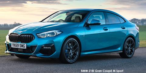 BMW 218i Gran Coupe - Image credit: © 2020 duoporta. Generic Image shown.