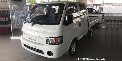 JAC X200 2.8TDi 1.3-ton double cab dropside - Image credit: © 2020 duoporta. Generic Image shown.