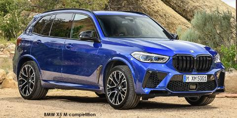 BMW X5 M competition - Image credit: © 2020 duoporta. Generic Image shown.