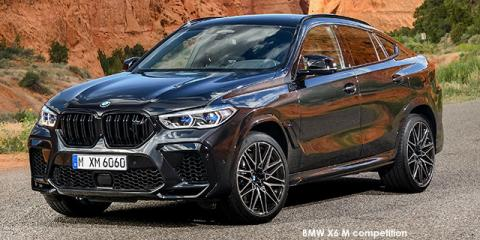BMW X6 M competition - Image credit: © 2020 duoporta. Generic Image shown.