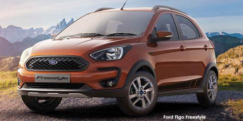 Ford Figo Freestyle 1.5 Trend - Image credit: © 2020 duoporta. Generic Image shown.