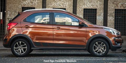 Ford Figo Freestyle 1.5 Titanium - Image credit: © 2021 duoporta. Generic Image shown.