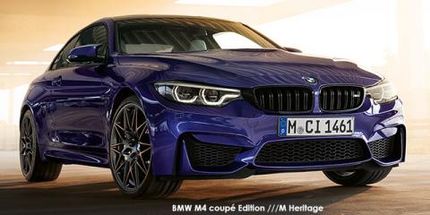 BMW M4 coupe Edition ///M Heritage - Image credit: © 2020 duoporta. Generic Image shown.