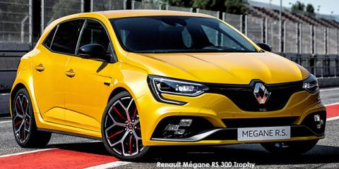 Renault Megane RS 300 Trophy auto - Image credit: © 2021 duoporta. Generic Image shown.