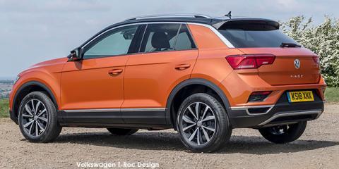 Volkswagen T-Roc 1.4TSI 110kW Design - Image credit: © 2021 duoporta. Generic Image shown.