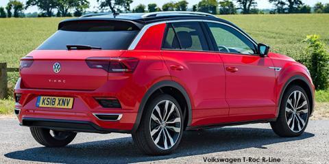 Volkswagen T-Roc 2.0TSI 140kW 4Motion R-Line - Image credit: © 2021 duoporta. Generic Image shown.