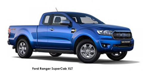 Ford Ranger 3.2TDCi SuperCab 4x4 XLT auto - Image credit: © 2021 duoporta. Generic Image shown.