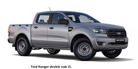 Ford Ranger 2.2TDCi double cab 4x4 XL auto - Image credit: © 2021 duoporta. Generic Image shown.
