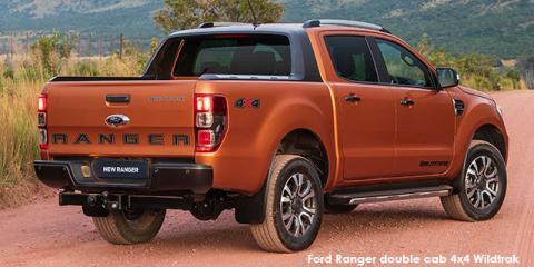 Ford Ranger 2.0Bi-Turbo double cab 4x4 Wildtrak - Image credit: © 2021 duoporta. Generic Image shown.