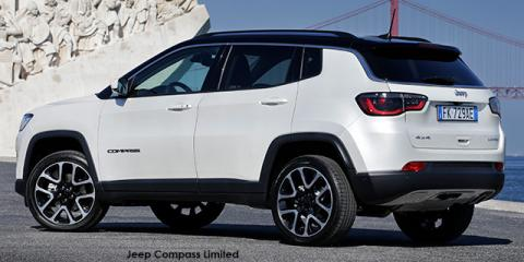 Jeep Compass 1.4T Limited - Image credit: © 2020 duoporta. Generic Image shown.