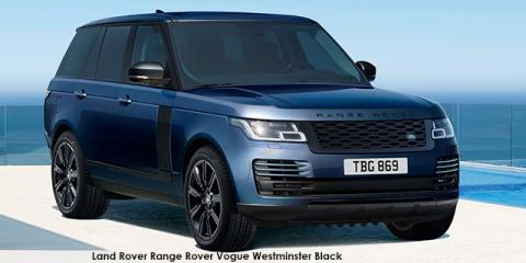 Land Rover Range Rover Vogue Westminster Black SDV8 - Image credit: © 2021 duoporta. Generic Image shown.