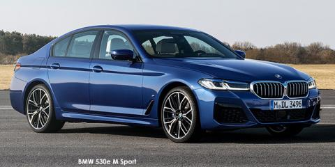 BMW 520d M Sport - Image credit: © 2021 duoporta. Generic Image shown.