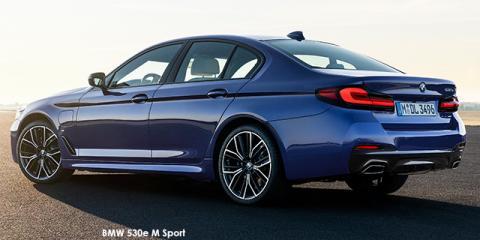 BMW 530i M Sport - Image credit: © 2021 duoporta. Generic Image shown.